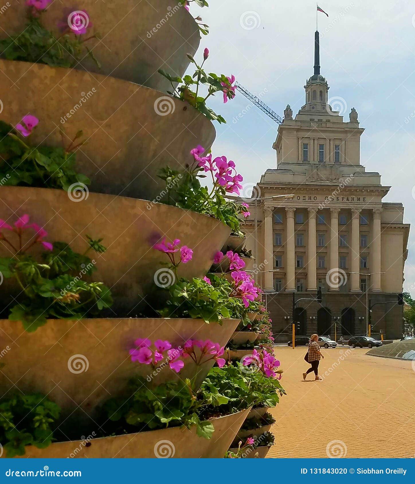Rada budynki w Sofia, Bułgaria