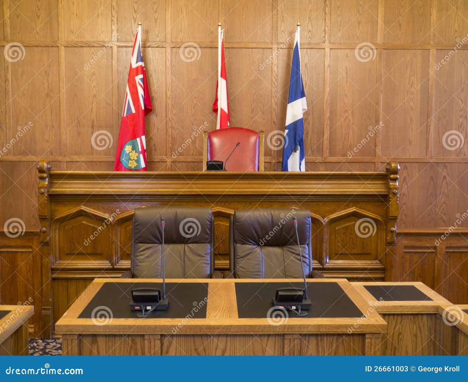 Rada Miasta Gmach sądu Sala i