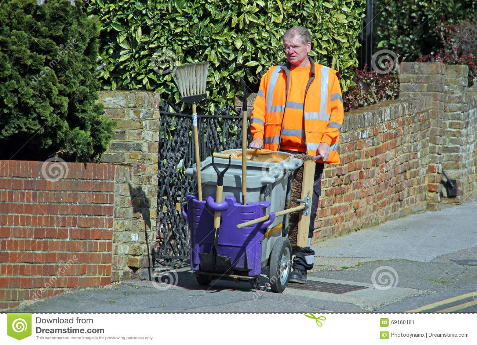 Rada ulicznego cleaner operator