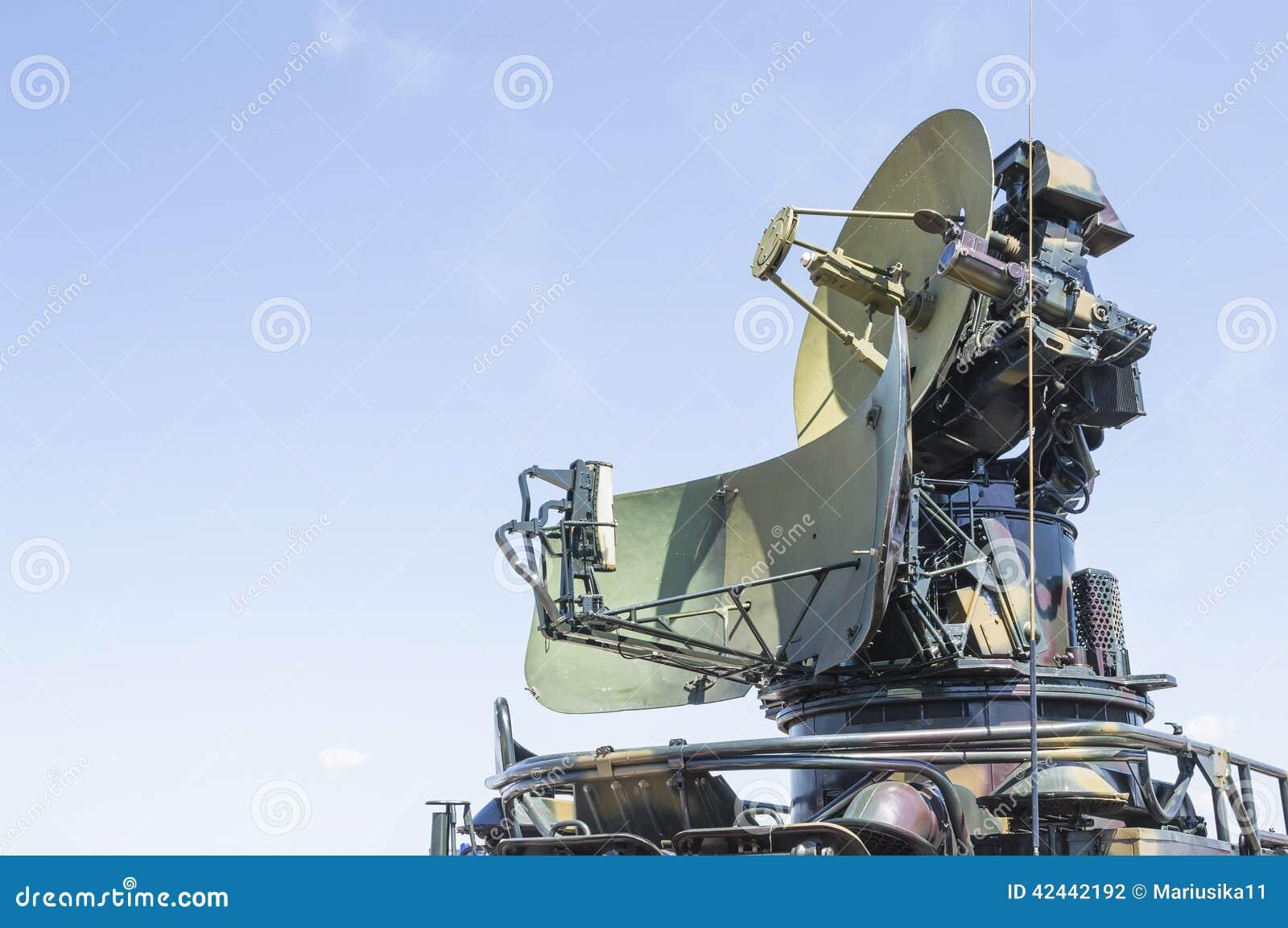 Radar de los militares de la guerra fría
