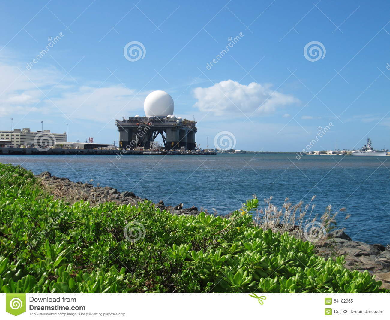 a description of pearl harbor as an inlet of the island of oahu Its origin and administrative history through world war description of pearl harbor the harbor of pearl river, in the island of oahu.