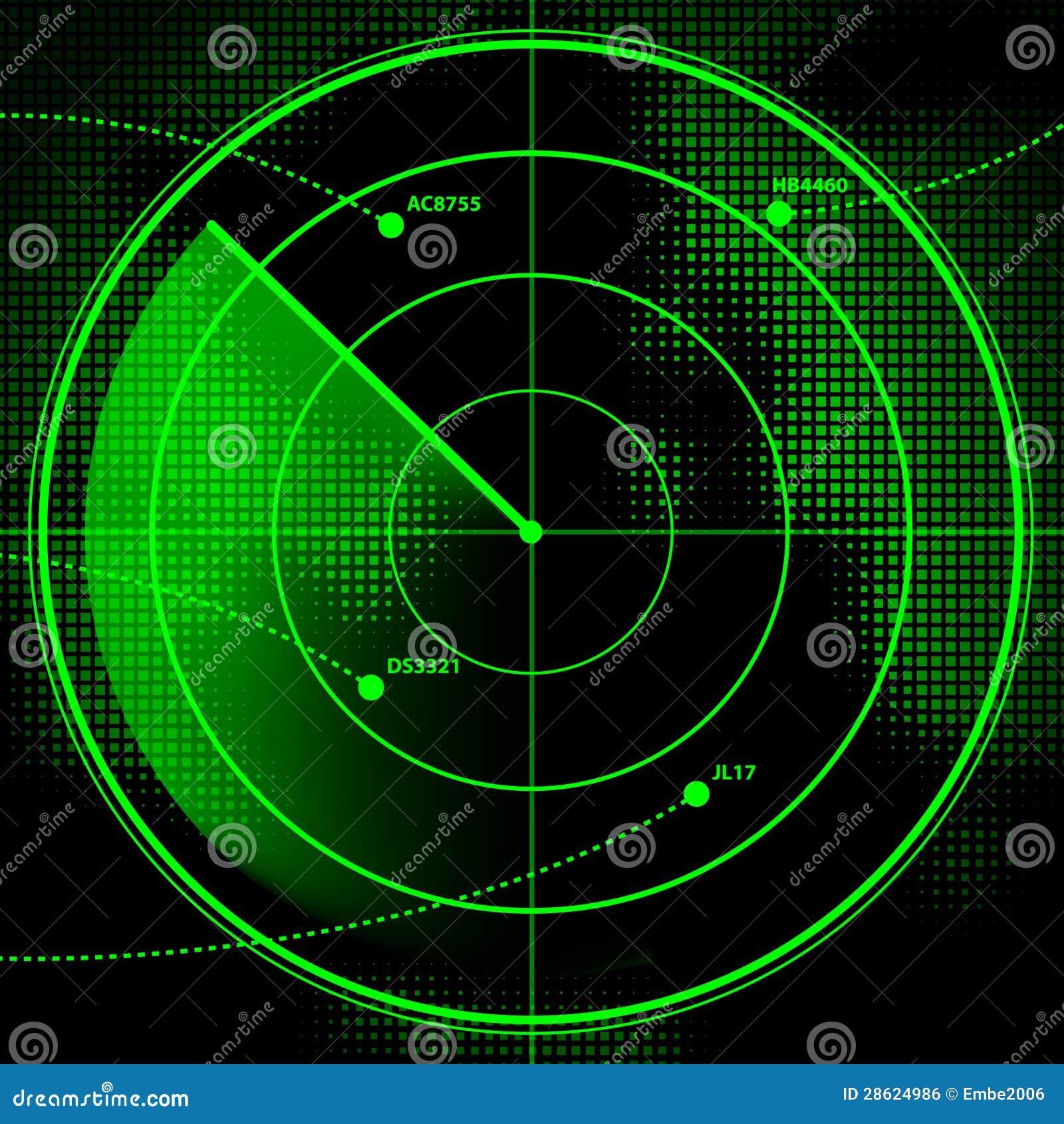 Radar Screen Royalty Free Stock Image Image 28624986