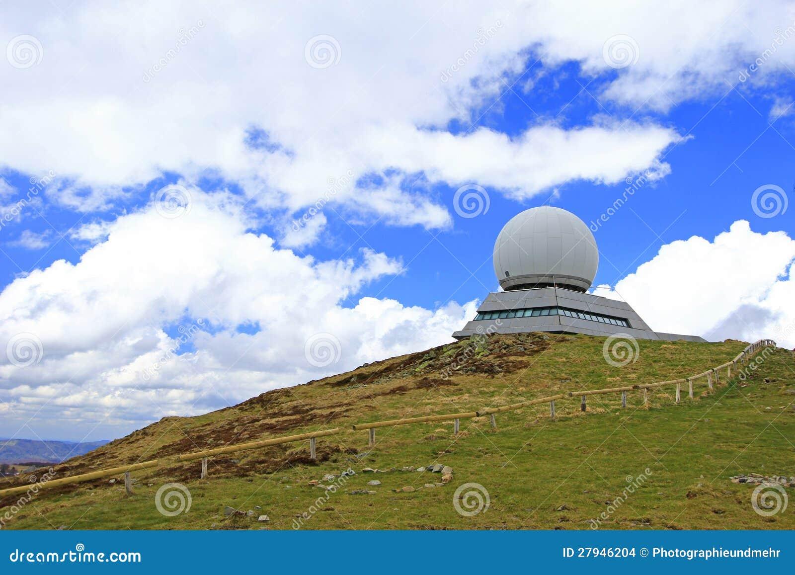 Radarstation für Luftfahrt