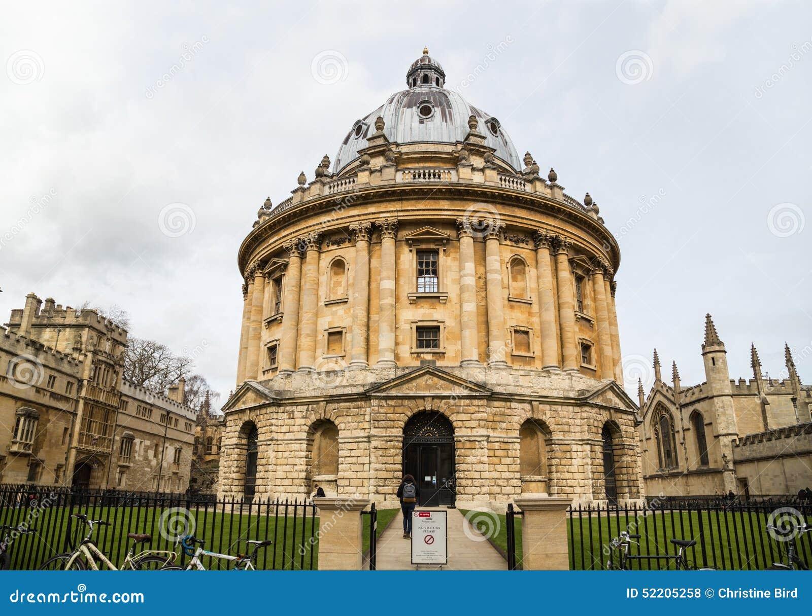 Radcliffe Camera Oxford University Editorial Stock Photo Image 52205258