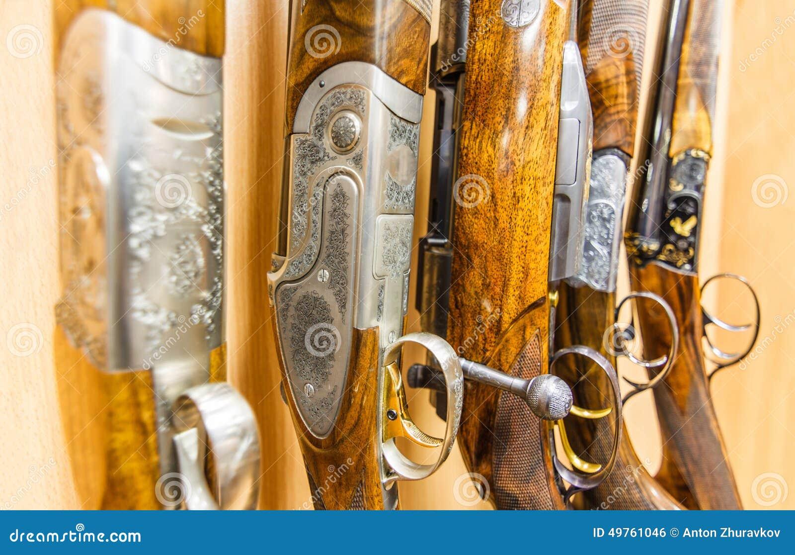Raden av vapen shoppar in