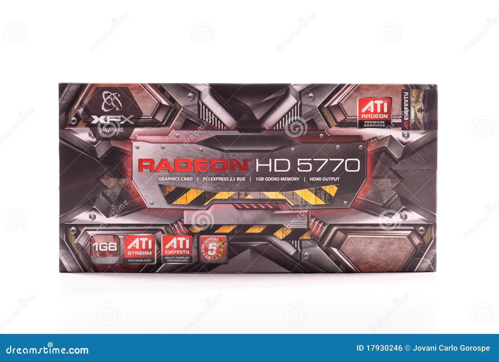 Radeon графиков карточки ati