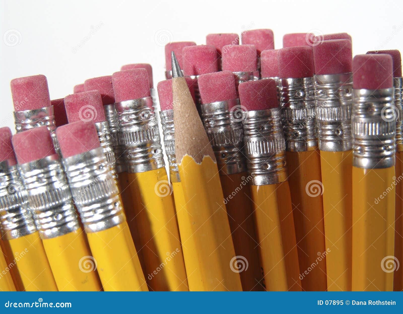 Radergummiblyertspenna