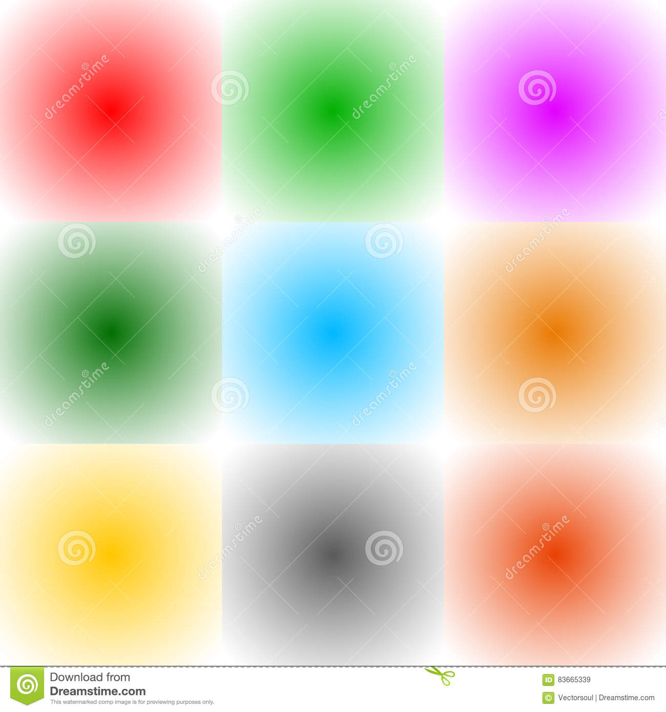 9 radial gradient monochrome square format backgrounds backdro