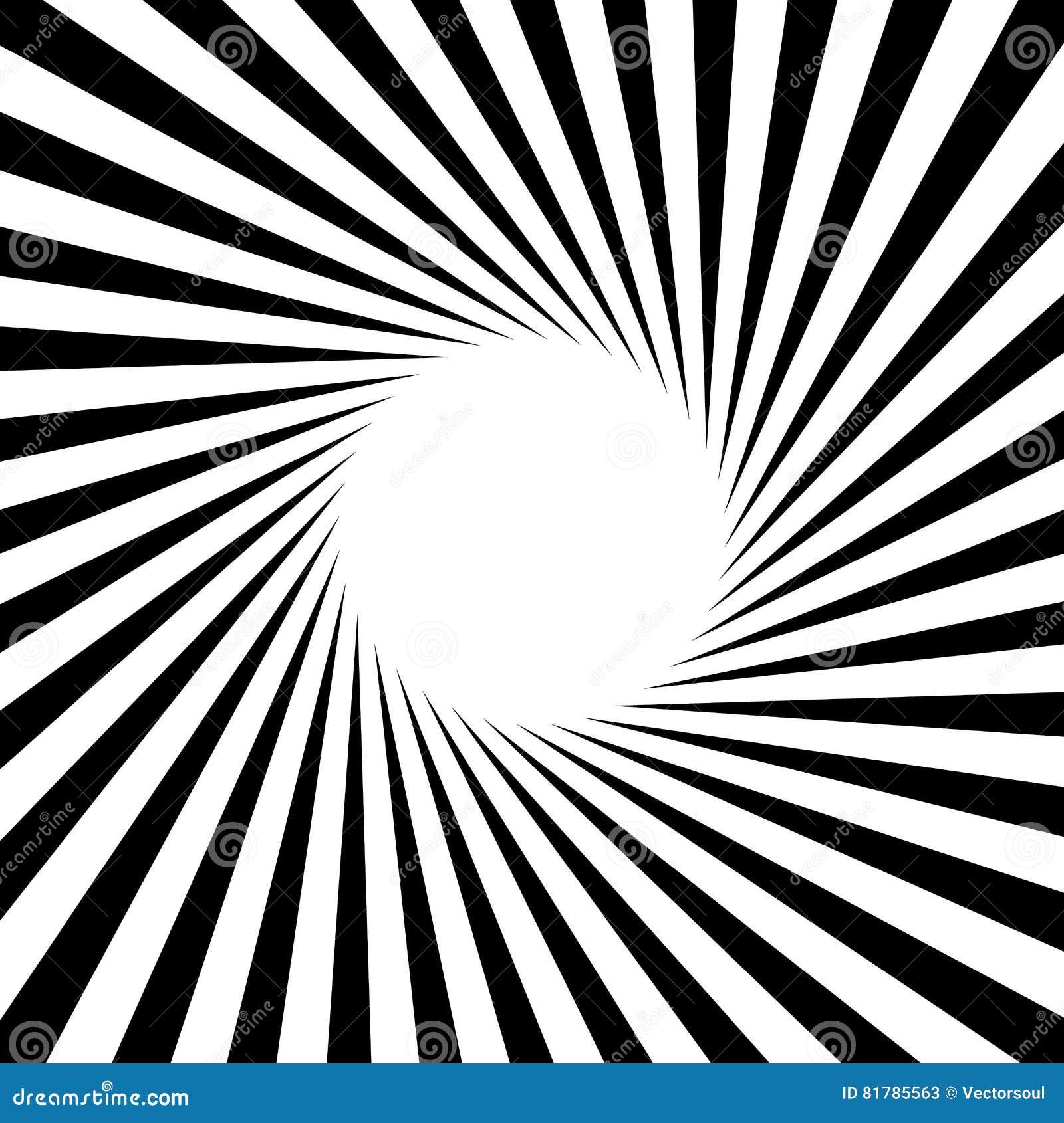 Radial - la radiación alinea el modelo de la circular del resplandor solar del starburst