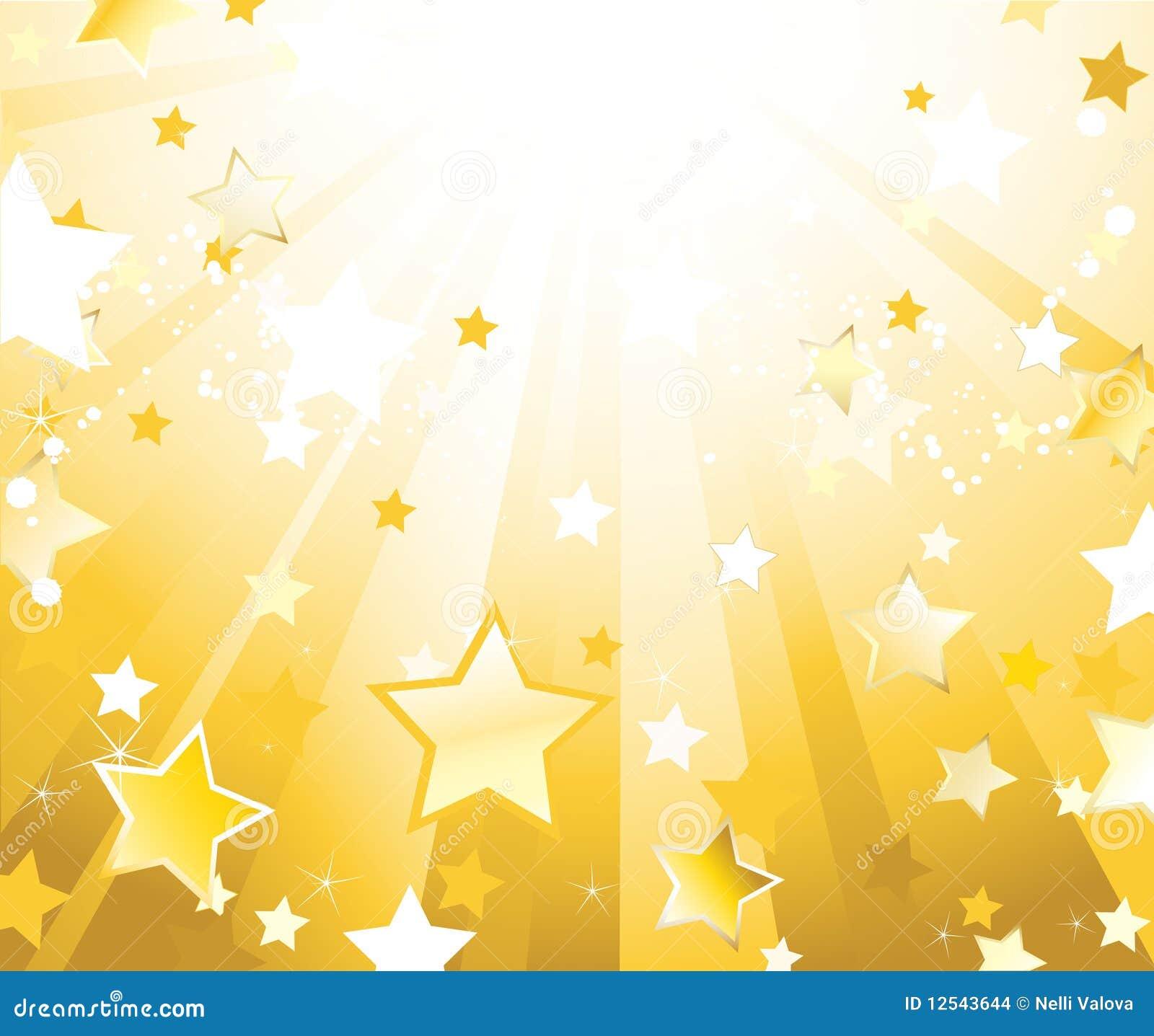Light gold background ...