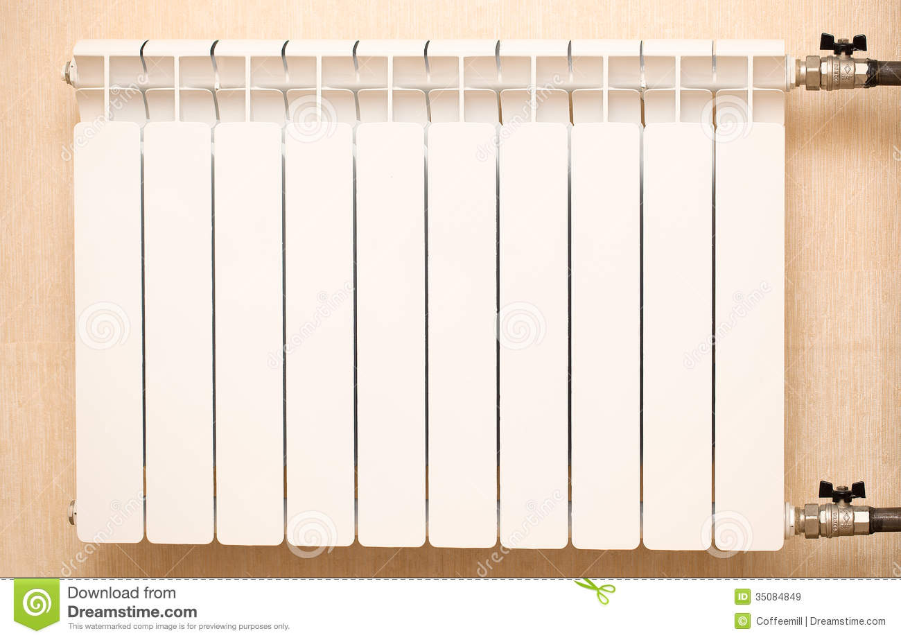 radiateur blanc images libres de droits image 35084849. Black Bedroom Furniture Sets. Home Design Ideas