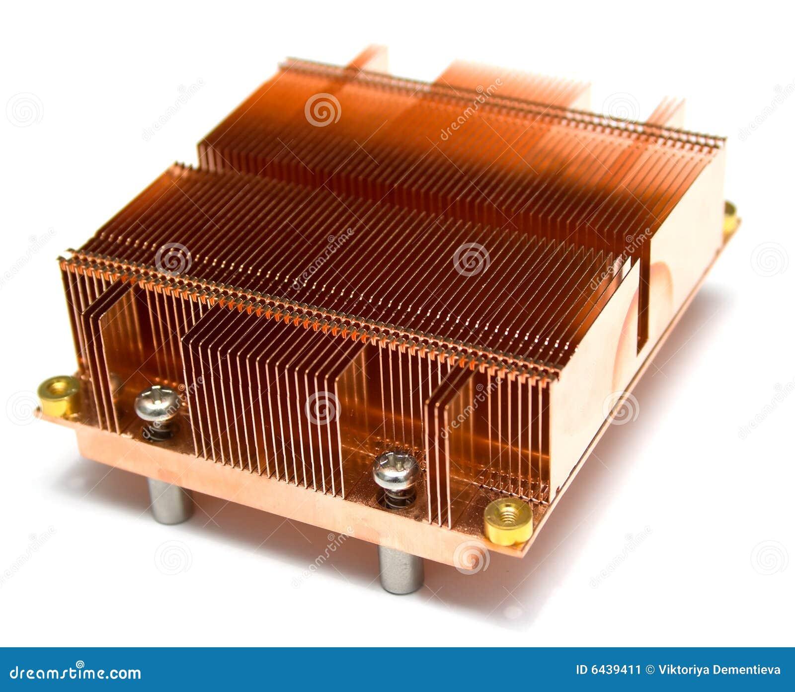 Radiator van een koeler