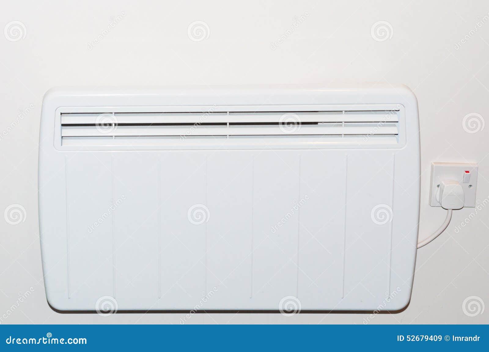 Radiatore Elettrico Del Riscaldamento Della Parete Immagine