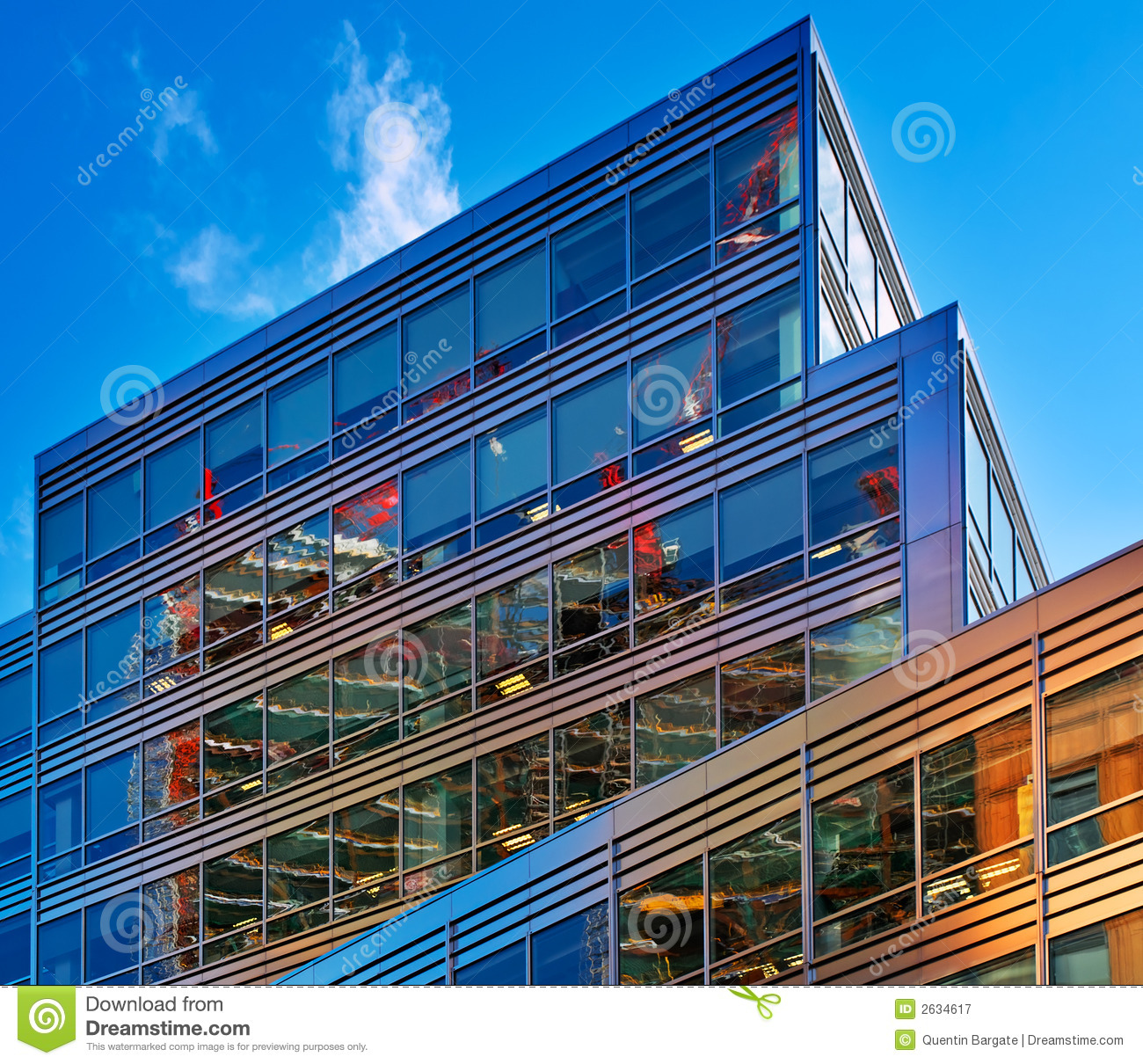 radical office reflections royalty free stock photography