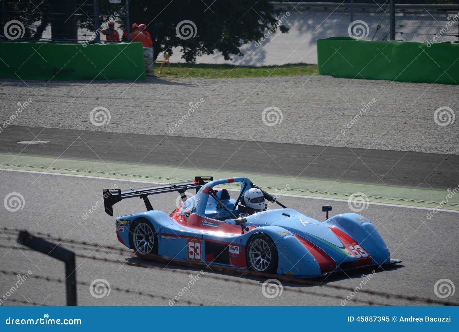 Radical SR3 at Monza editorial image  Image of drive - 45887395