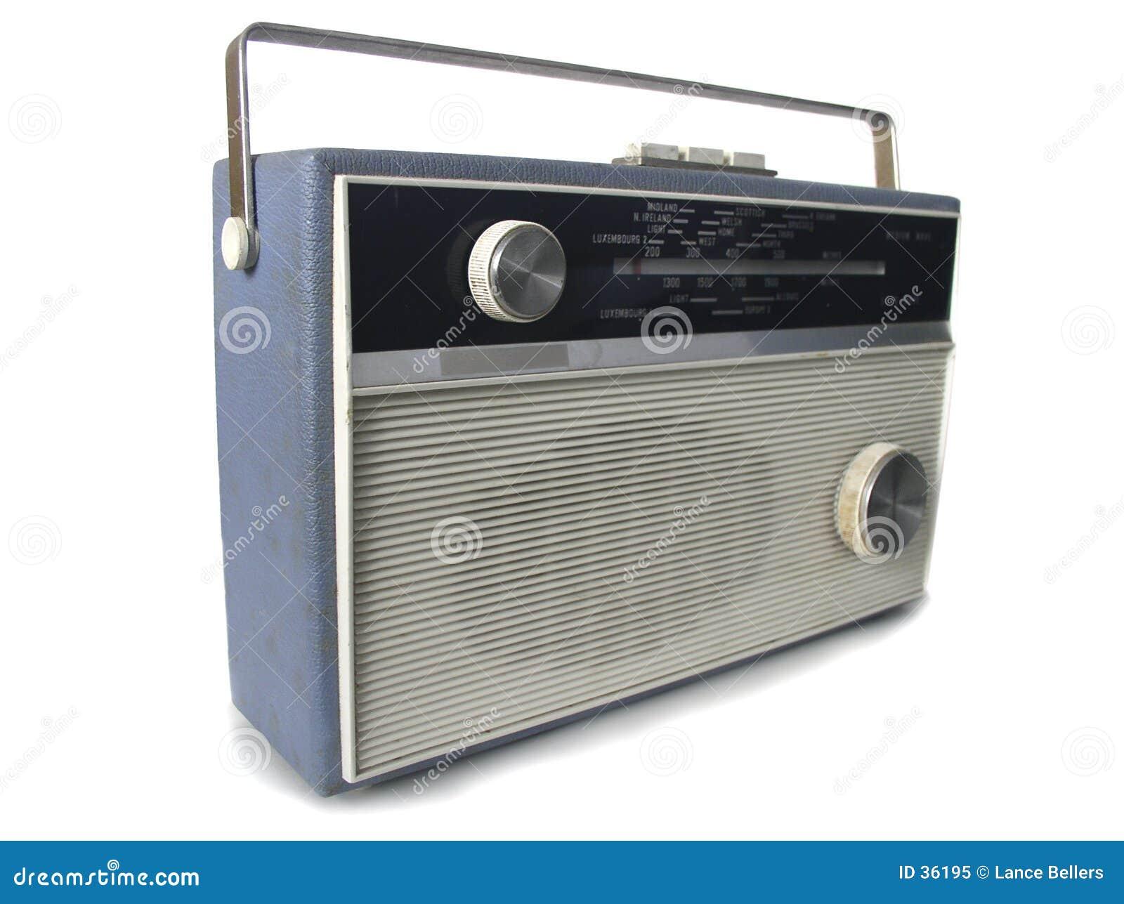 Download Radio 1960 obraz stock. Obraz złożonej z retro, melodia - 36195
