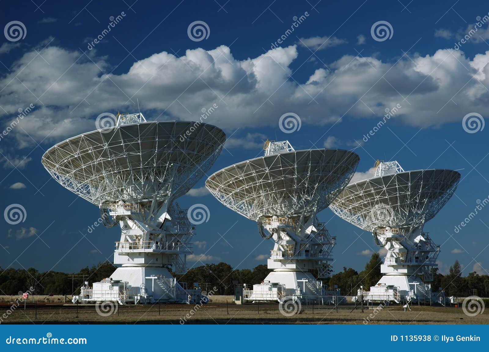 Radio Antenna Dishes Royalty Free Stock Photos Image