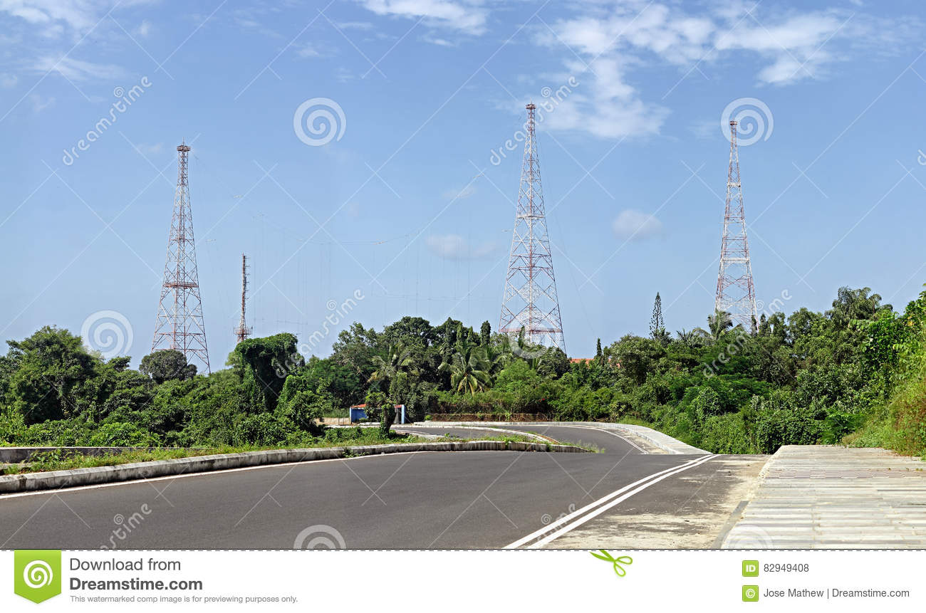 Radio Communication Antennae Towers