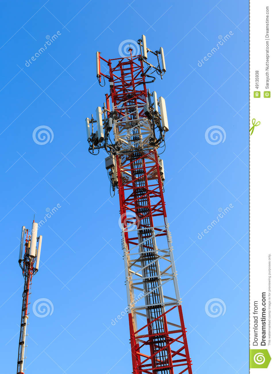 Radio communications towers