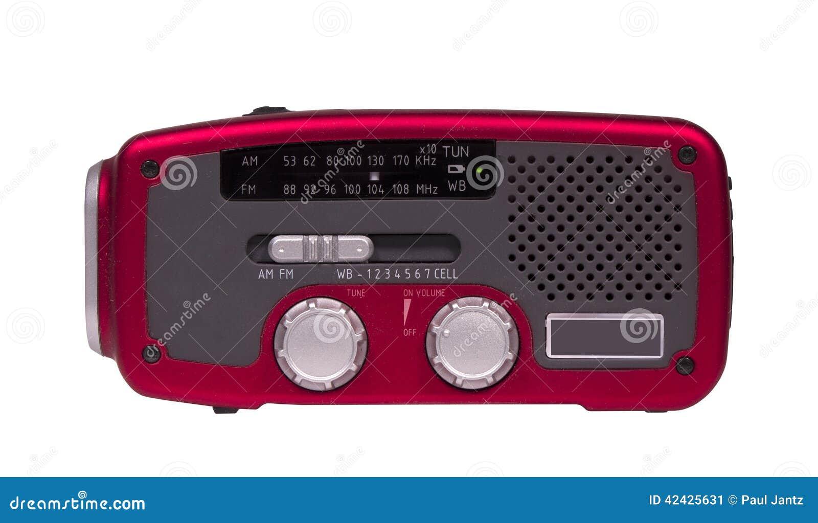 Radio del tiempo de la emergencia