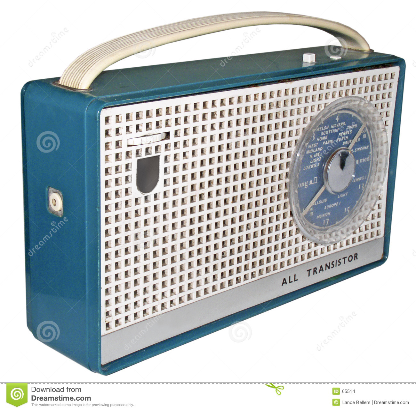 Download Radio des années 60 (2) photo stock. Image du airs, sixties - 65514