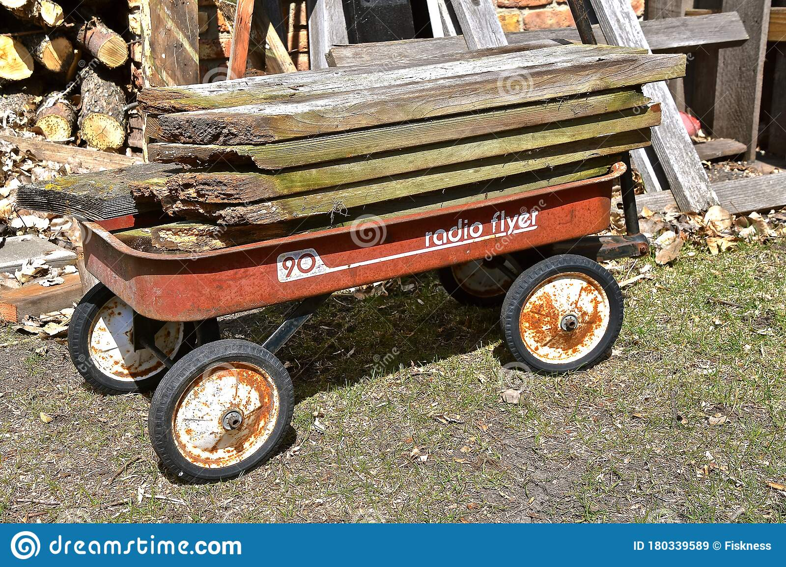 Old Radio Flyer Wagon Photos Free Royalty Free Stock Photos From Dreamstime