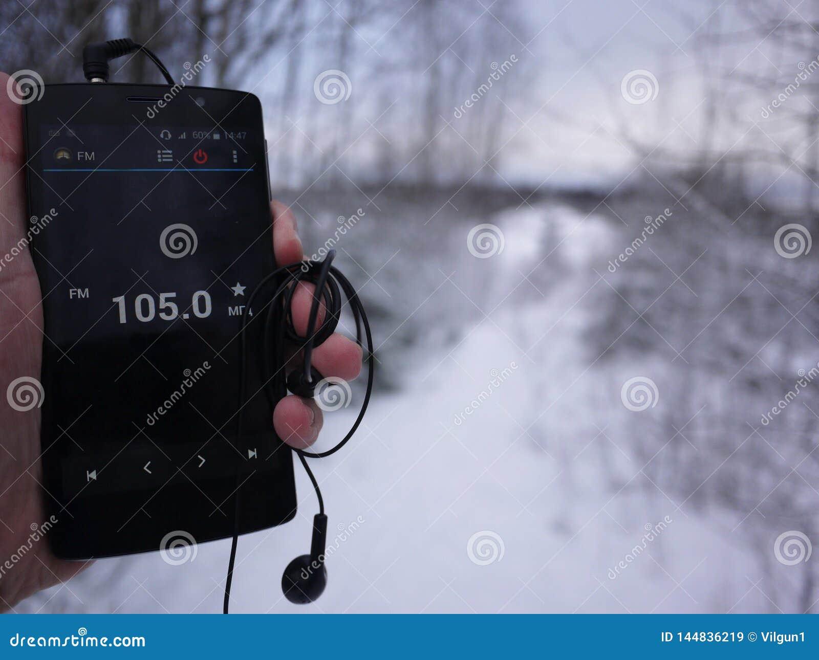 Radio sur le smartphone Station de radio fonctionnant dans l appli de smartphone Vous pouvez choisir FM différent