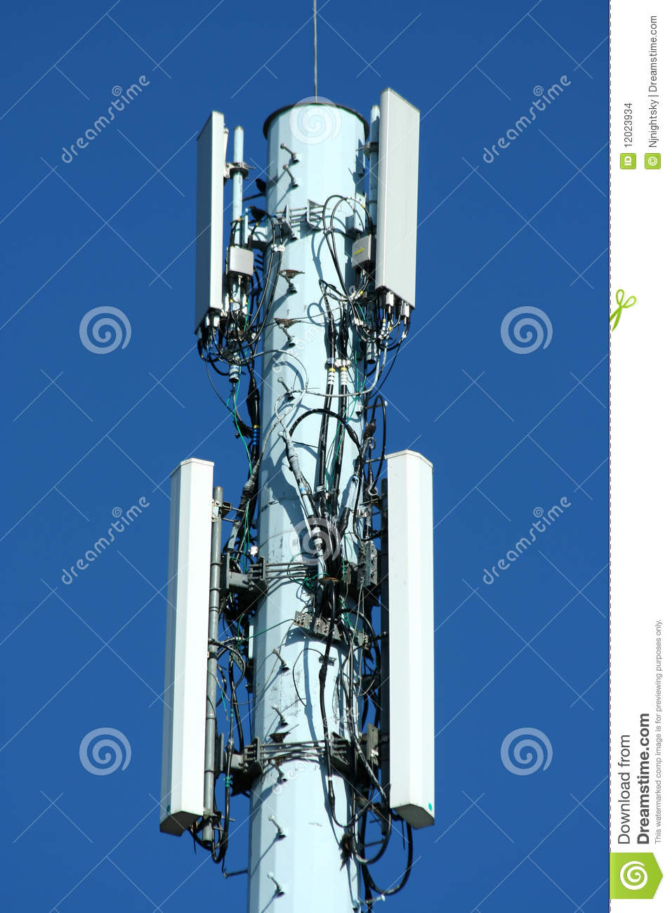 Radio Tower Stock Images - Image: 12023934