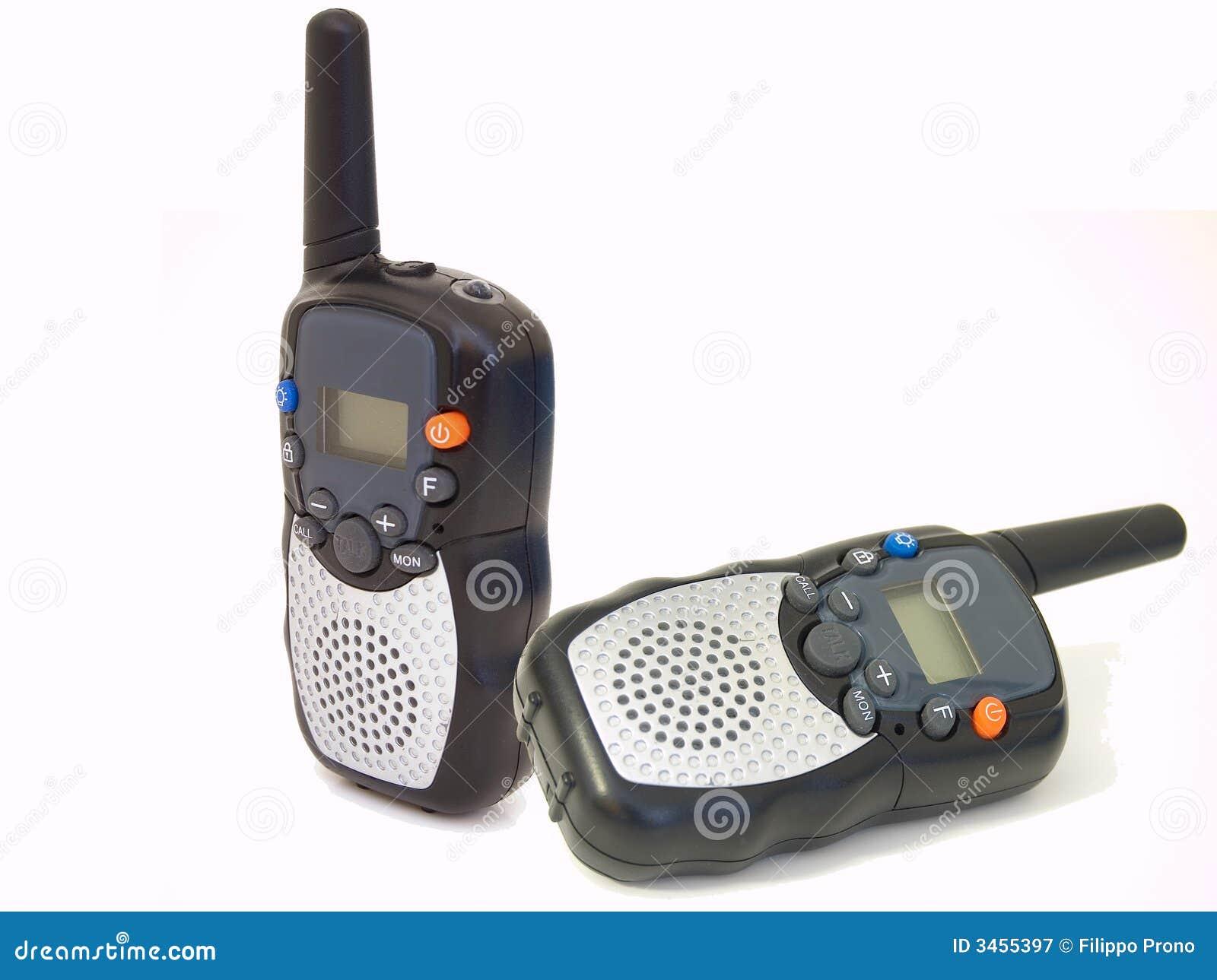Radio Walkie Talkie Pair Royalty Free Stock Photography - Image ...