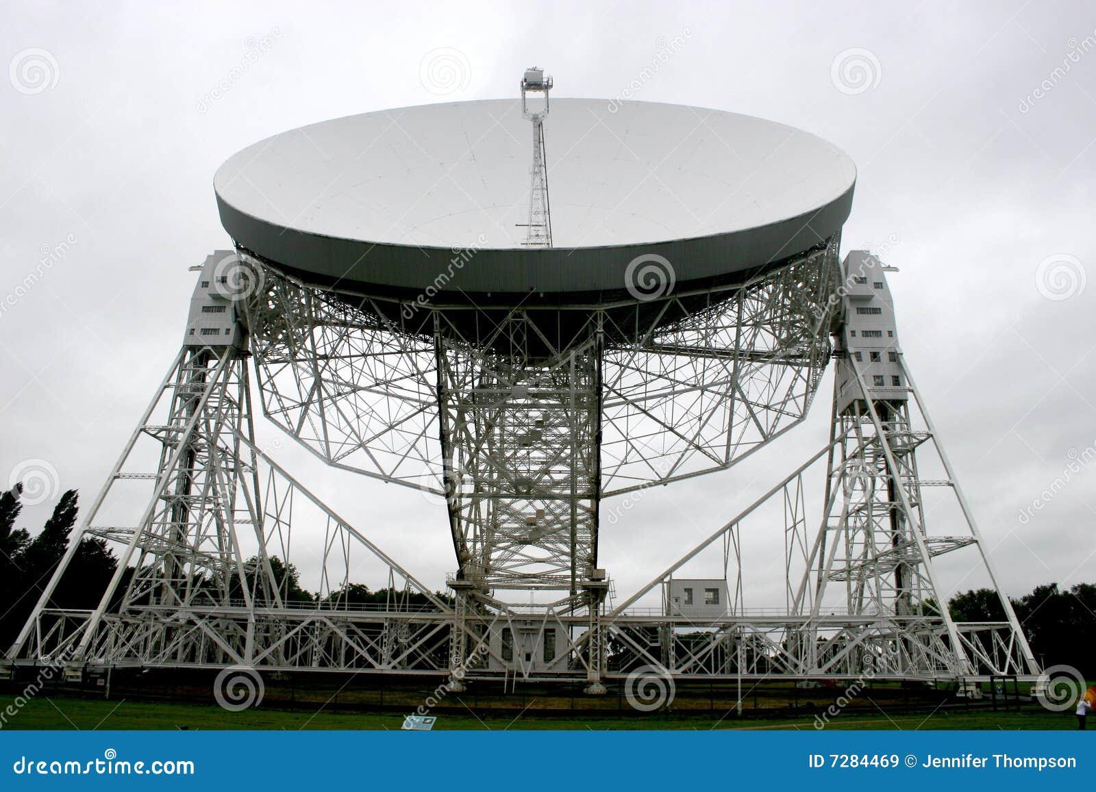 Radiotelescope de la batería de Jodrell