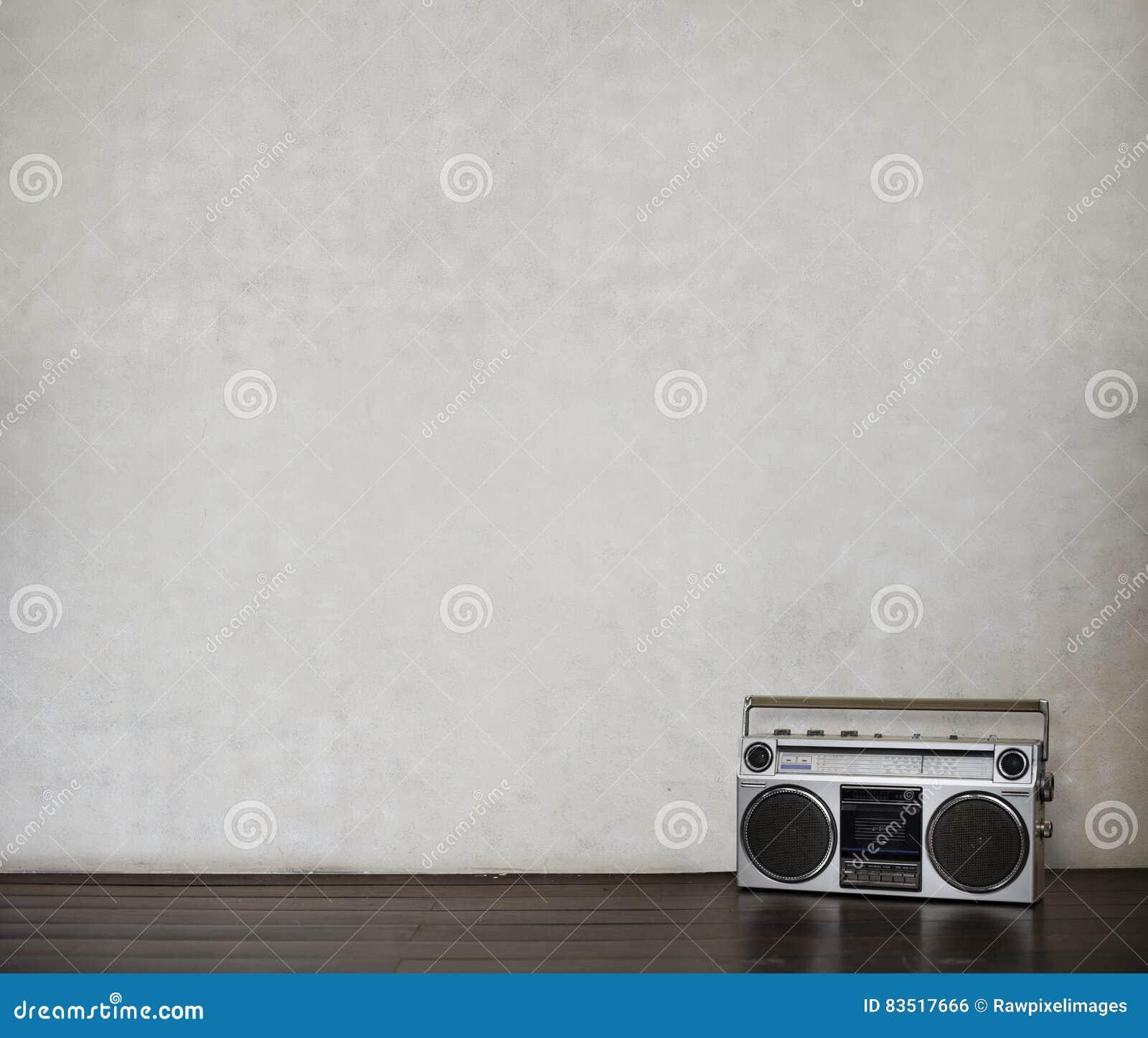 Radiowego Audio Muzycznego melodia rytmu czasu wolnego Retro pojęcie