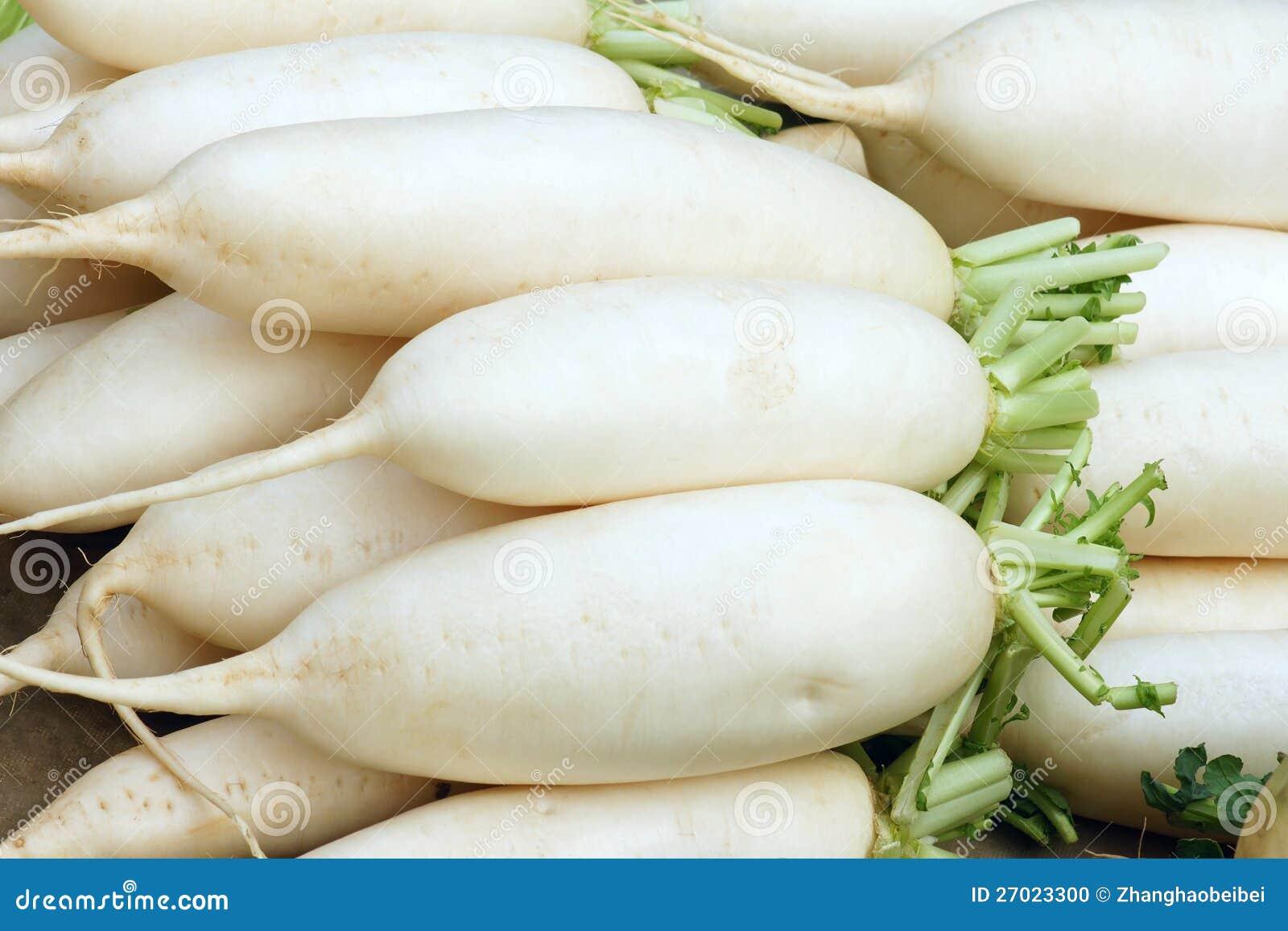 Radish branco