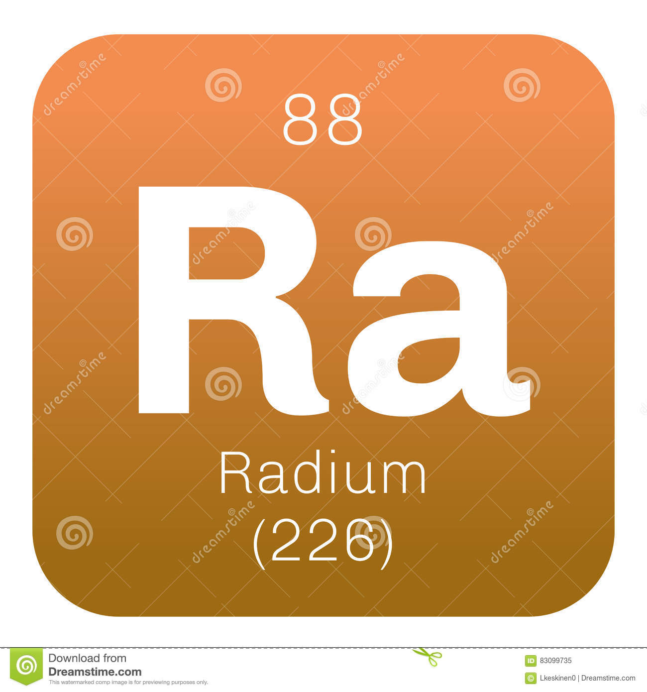 the description of the highly radioactive element radium This webelements periodic table page contains the essentials for the element radium radium are radioactive and there is only audio element description.