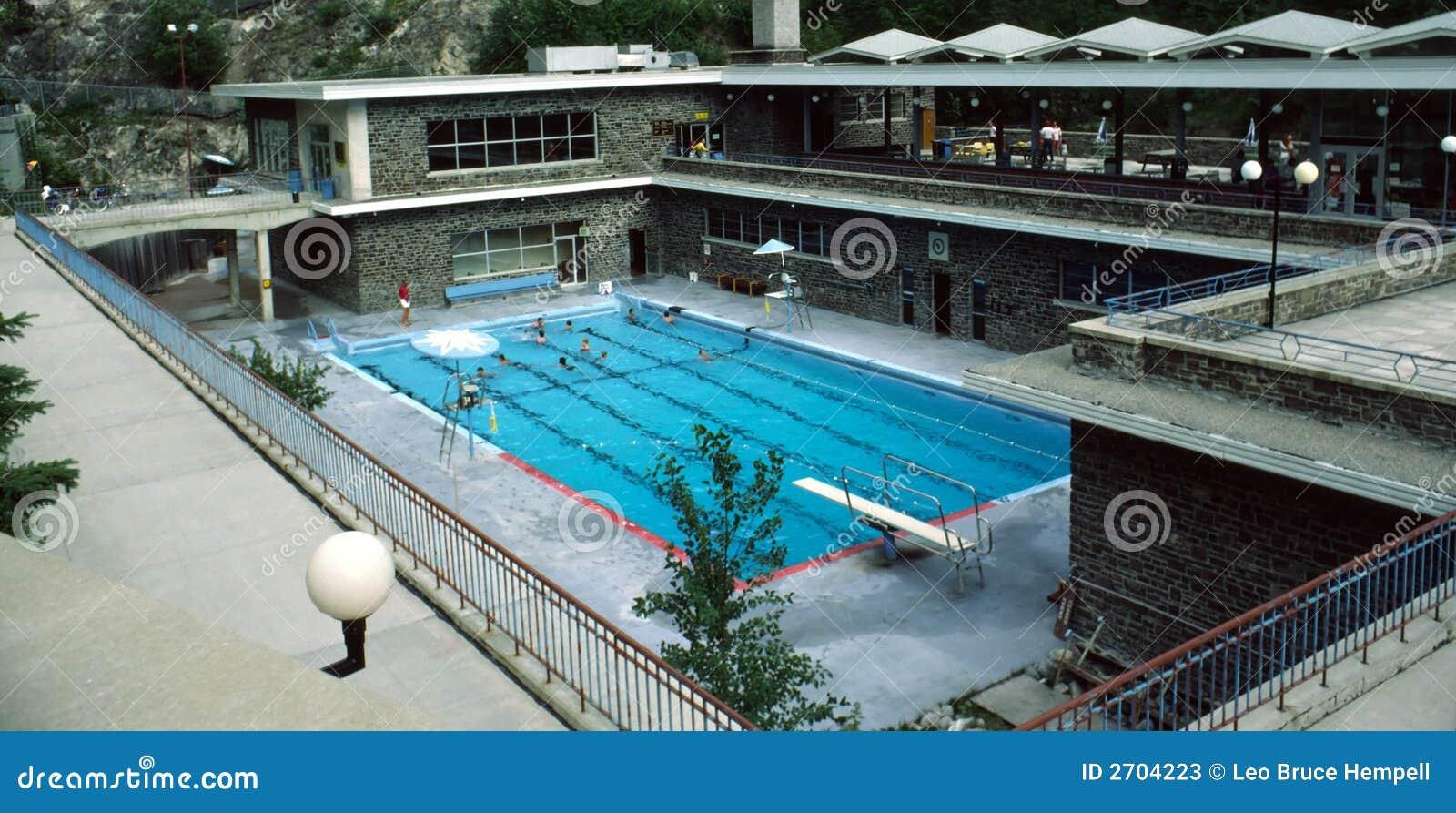 Radium Hot Springs Pool British Columbia Canada