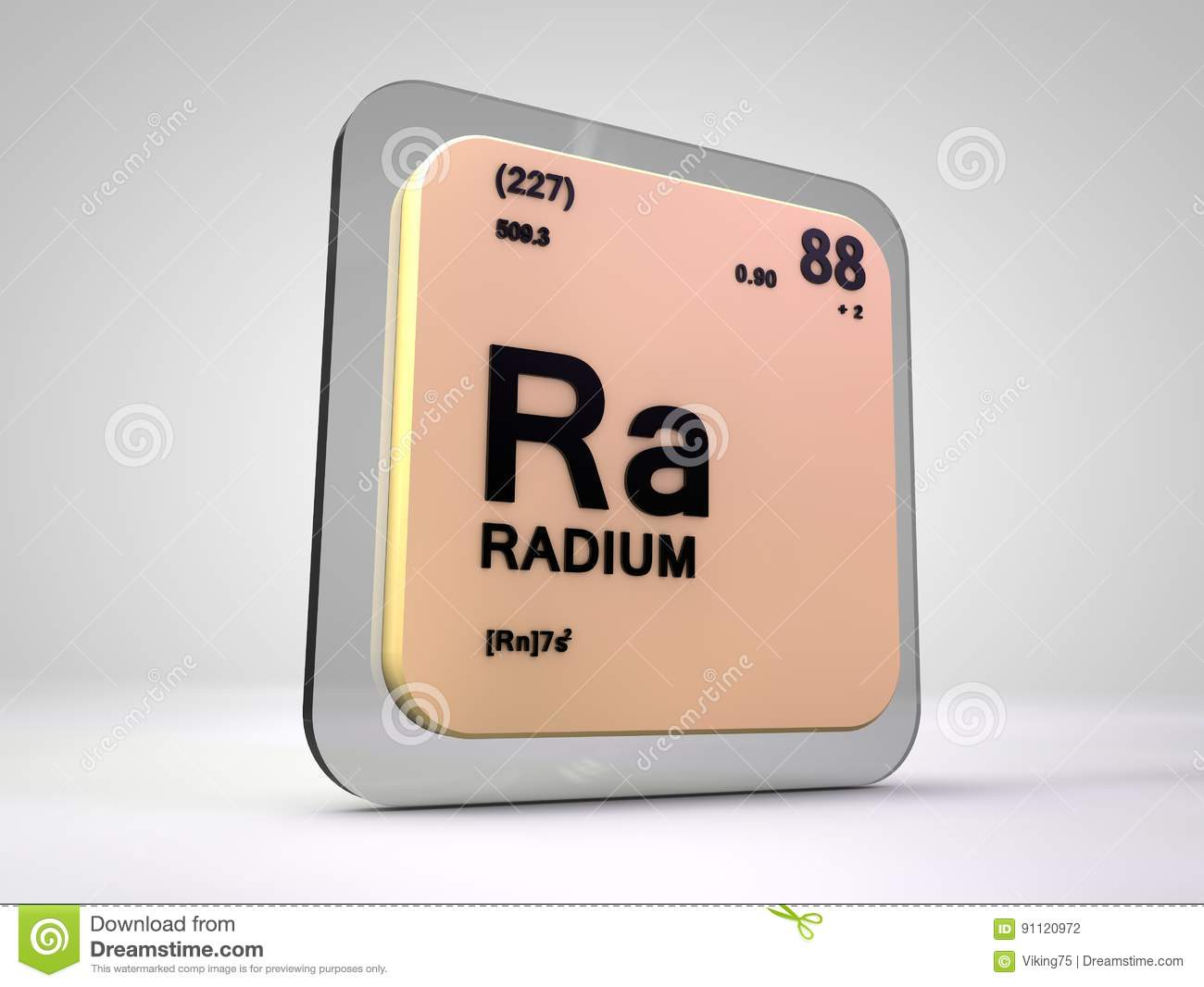 Radium ra chemical element periodic table stock illustration radium ra chemical element periodic table gamestrikefo Images