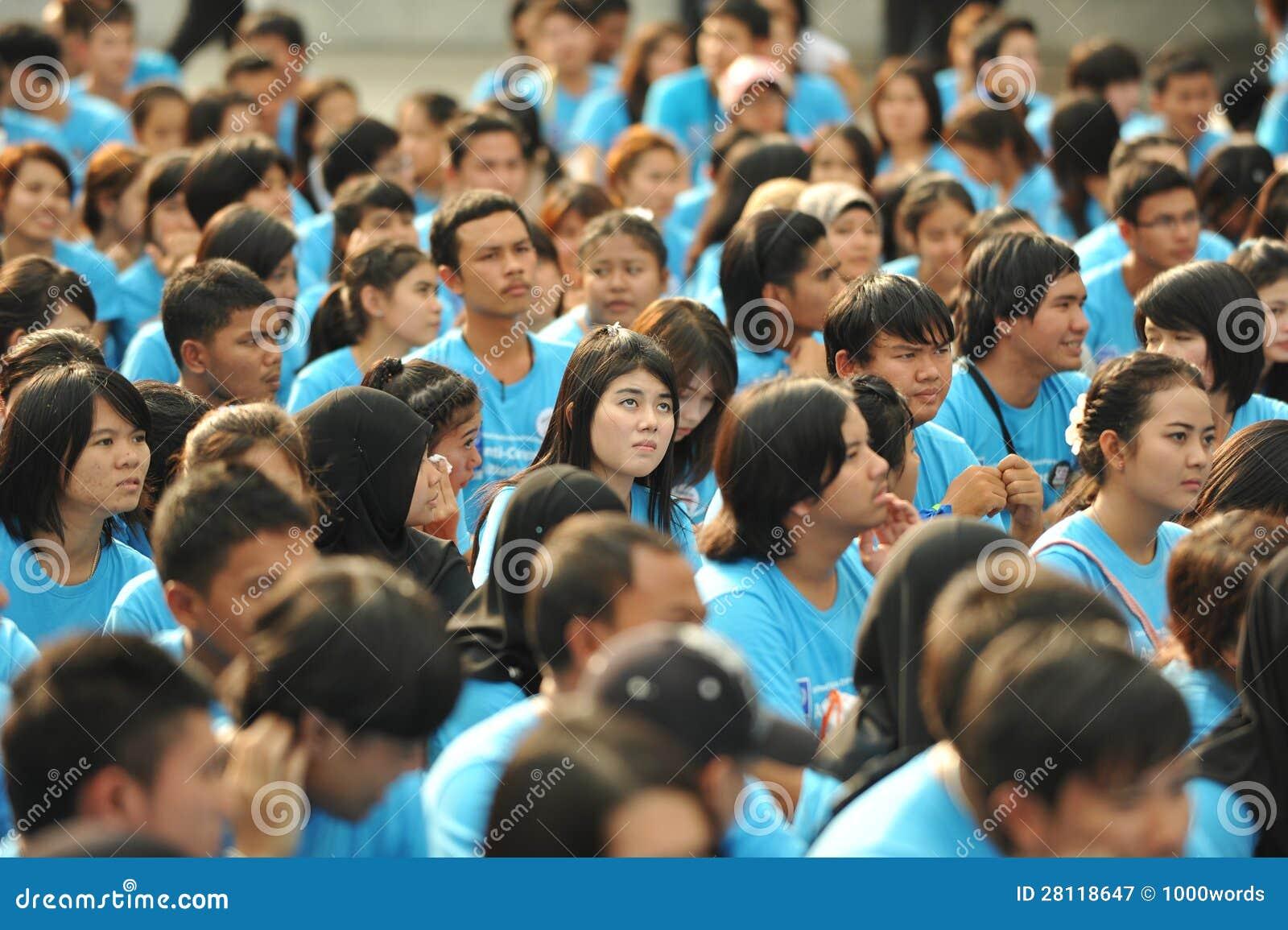 Raduno anticorruzione a Bangkok