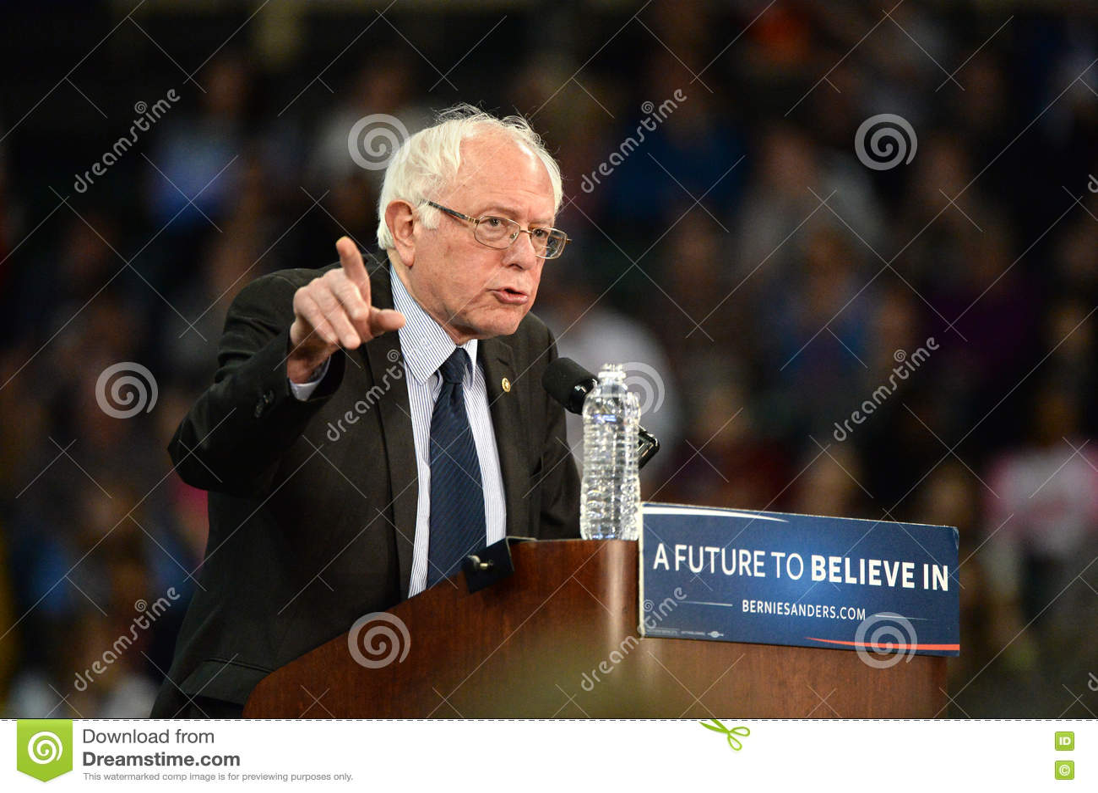 Raduno di Bernie Sanders in Saint Charles, Missouri