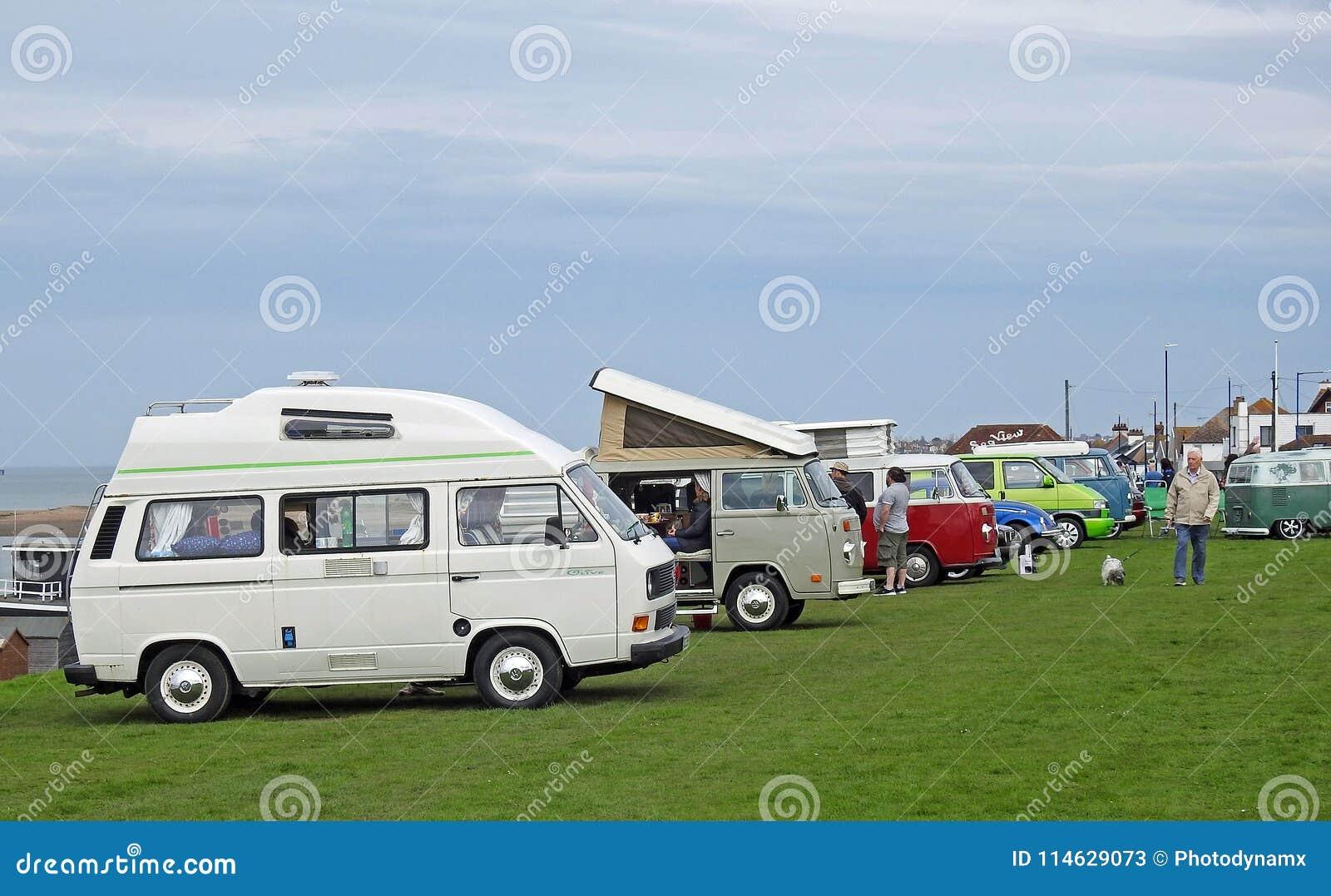 Raduno di raduno del club di Volkswagen