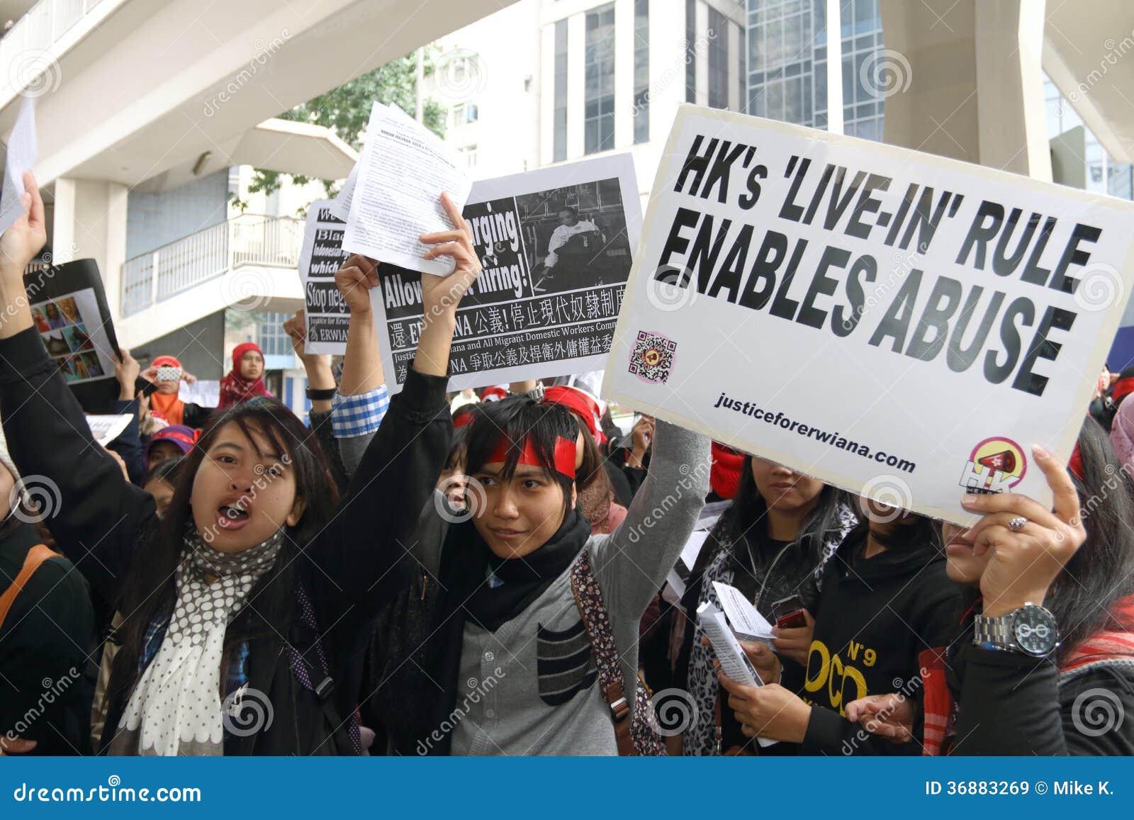Download Raduno Per Giustizia Per Erwiana In Hong Kong Immagine Stock Editoriale - Immagine di abusare, kong: 36883269