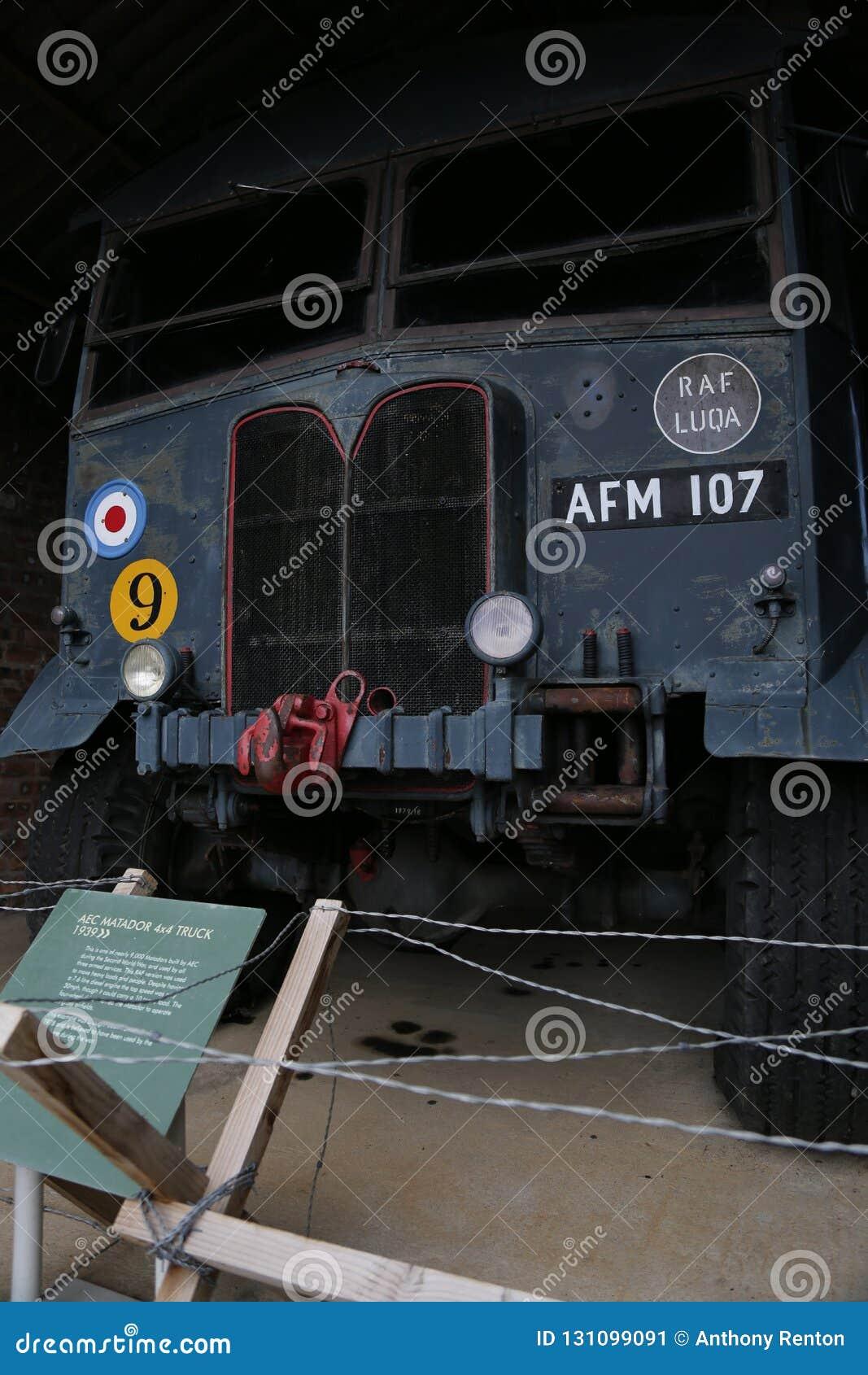 RAF AEC matador 4x4