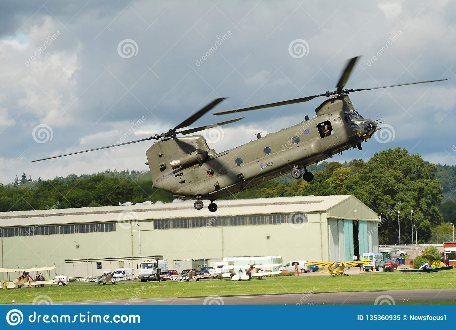 RAF Chinook helikopter