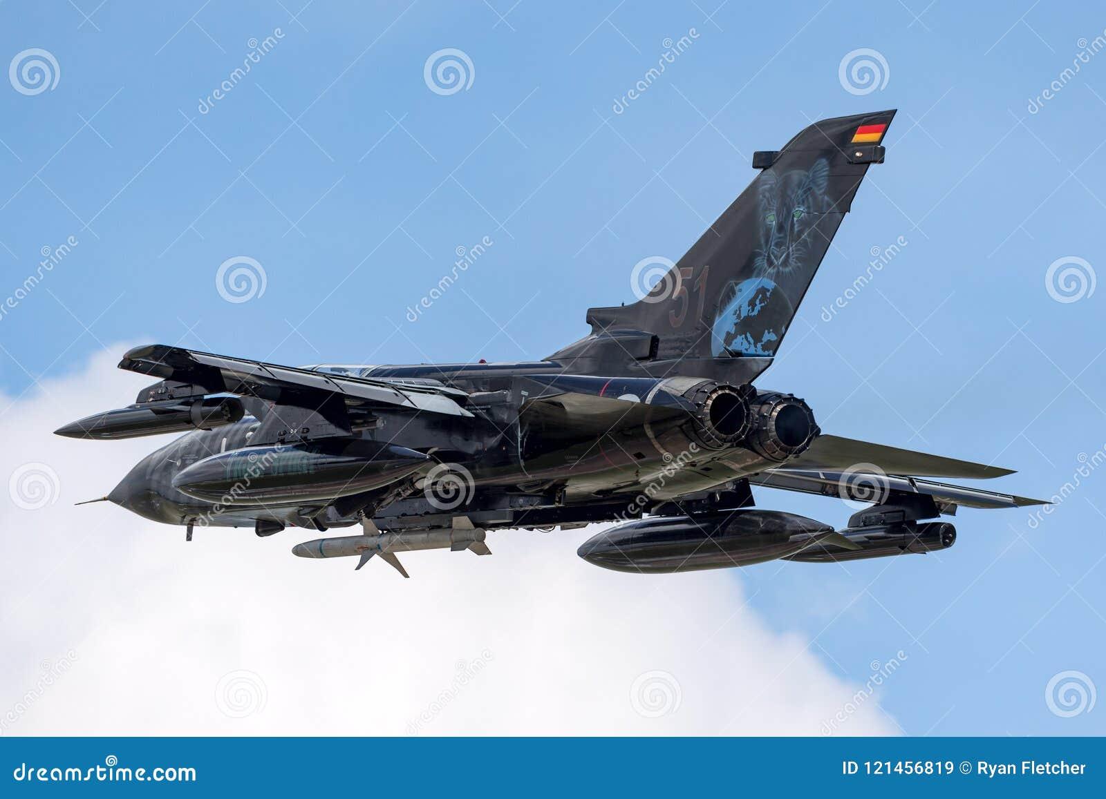 German Air Force Luftwaffe Panavia Tornado ECR Electric Combat