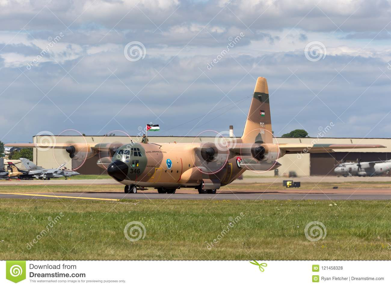 Royal Jordanian Air Force Lockheed C-130H Hercules Military ... a48d7ffb3