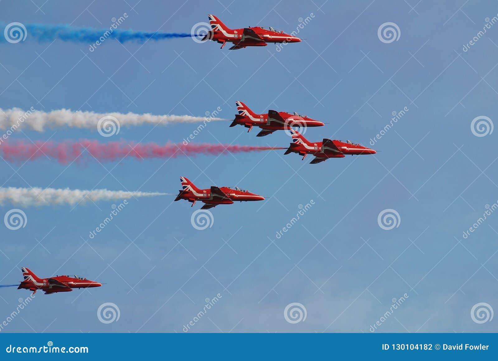 RAF strzał Czerwony pokaz, Hastings