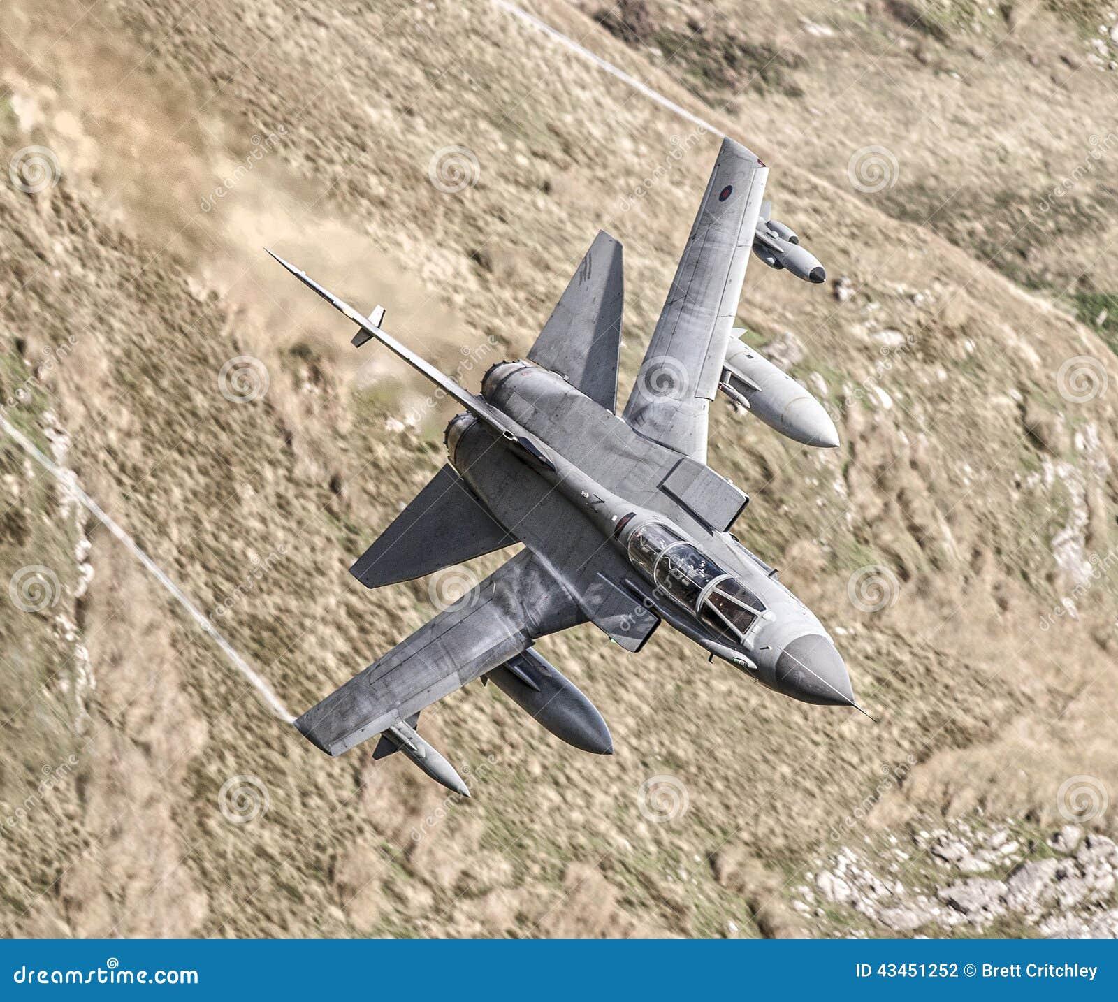 RAF Tornado fighter jet