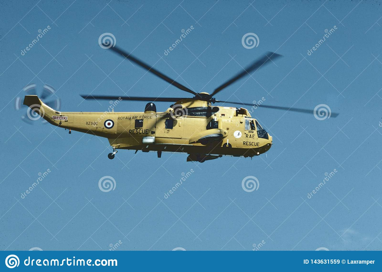 RAF Westland WS-61 Sea King CN WA856 helikopter