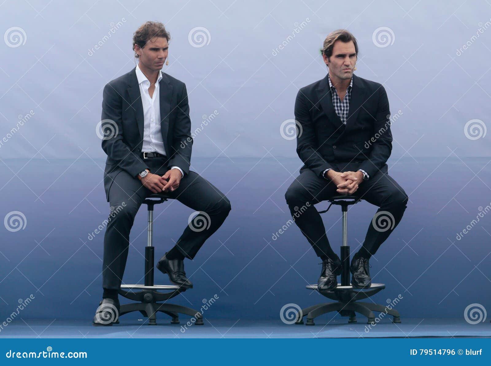 Rafa Nadal et Roger Federer