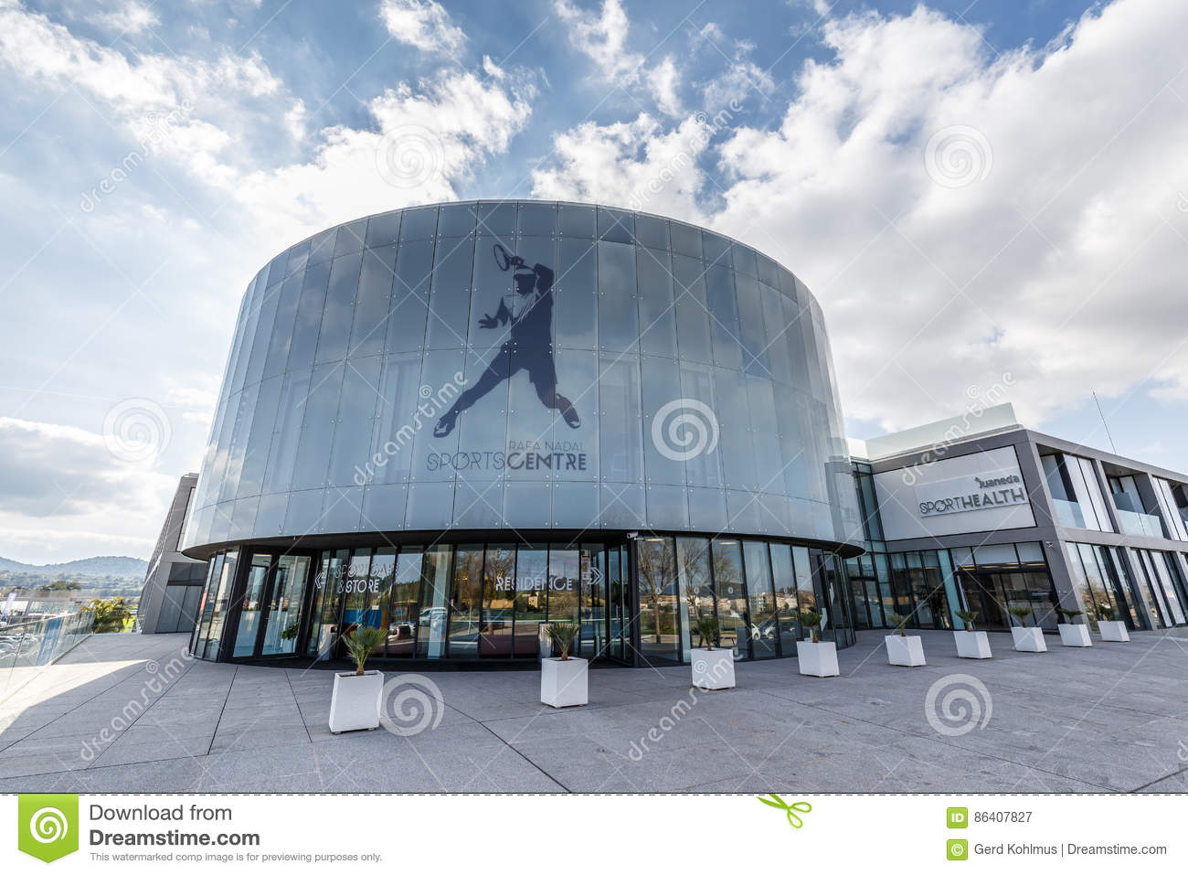 Rafa Nadal Sports Centre Editorial Photography Image Of Rafael 86407827