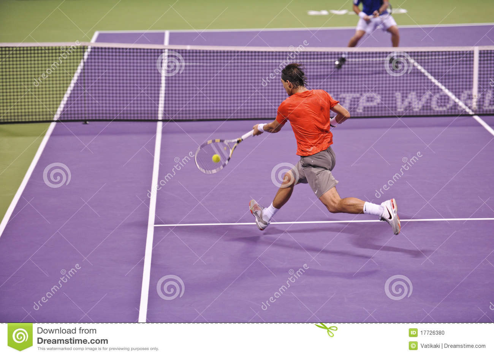 Rafael Nadal au tennis de triphosphate d adénosine