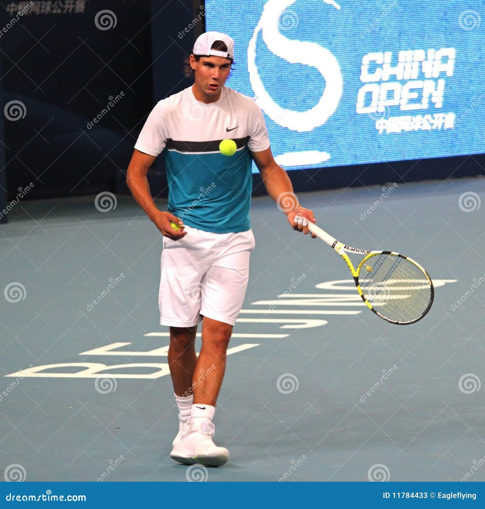 Rafael Nadal (ESPECIALMENTE), jugador de tenis profesional